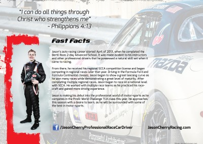 Jason Cherry Hero Card Back