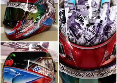 Jason Cherry Autism Society of America 2015 Helmet