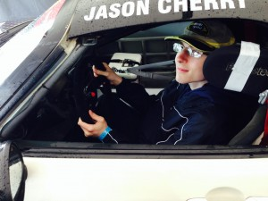 Jason Cherry Racing Partnered with Autism Society of America