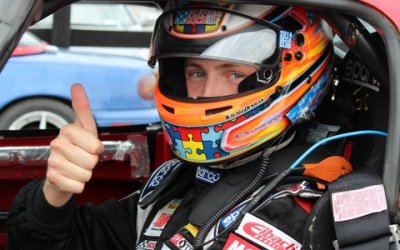 Jason Cherry Successfully Auctions Helmet to Support Autism
