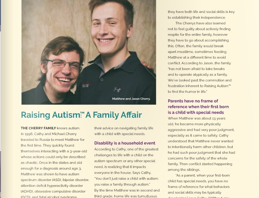 Raising Autism: A Family Affair