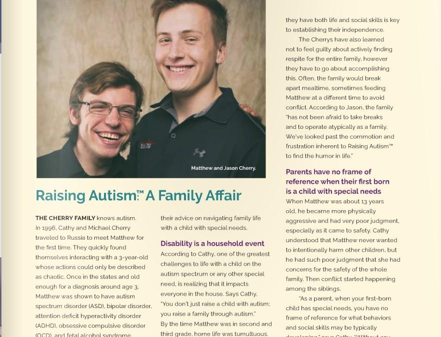 Raising Autism: A Family Affair